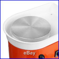 110V 25cm DIY Ceramic Electric Molding Machine Pottery Wheel For Work Art