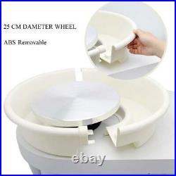 110V Electric Pottery Wheel Forming Machine Ceramic Work Clay Art Craft Machine