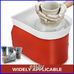 2020 110V Electric Pottery Wheel Ceramic Machine 25CM Work Clay Art Craft DIY