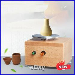 220V Rechargeable Mini DIY Ceramic Art Production Clay Making Pottery Machine