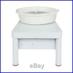 250W 110V Electric Pottery Wheel Ceramic Machine 25CM Work Clay Art Craft DIY US