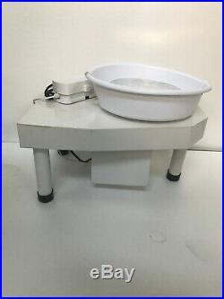 25CM 250W 110V Electric Pottery Wheel Machine Ceramic Work Clay Art Craft US New
