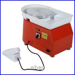 25CM 350W Electric Pottery Wheel Machine For Ceramic Work Clay Art Craft