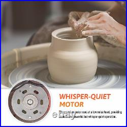 25CM Electric Pottery Wheel Ceramic Machine Work Clay Art Craft DIY