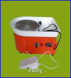25CM Pottery Wheel Ceramic Machine for Ceramic Work Clay Art Craft 300W