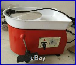 25CM Pottery Wheel Ceramic Machine for ceramic work Clay Art Craft 110V / 220V