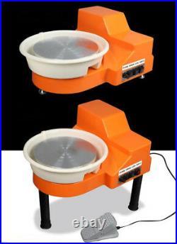 30cm Desktop Pottery Wheel Ceramic Machine For Ceramic Work Clay Art Craft
