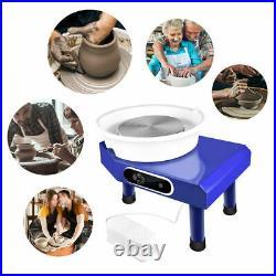 350W 110V Electric Pottery Wheel Ceramic Machine 25CM Work Clay Art Craft DIY