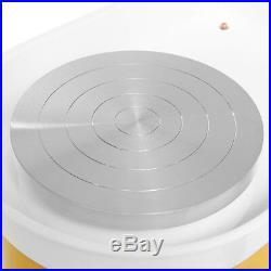 350W Electric Pottery Wheel Machine For Ceramic Work Clay Art Craft 110V