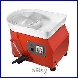 350W Electric Pottery Wheels Machine Stirring Ceramic Work Clay Craft Art School