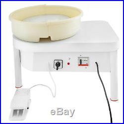 350/450W 25/28/35 CM Electric Pottery Wheel Ceramic Machine Work Clay Art Craft