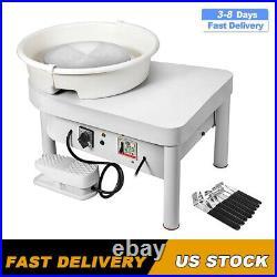 9.84 Electric Pottery Wheel Ceramic Machine Work Clay Art Craft DIY 110V 350W