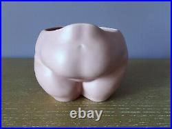 ANISSA KERMICHE Ceramic Art Pottery Popotelée Pot Vase Chubby Fat Woman Body