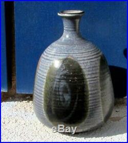 ANTONIO Tony PRIETO California Studio Art Pottery Ceramic Bottle Vase