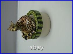 ARDMORE Ceramic Art Leopard Coffee Pot