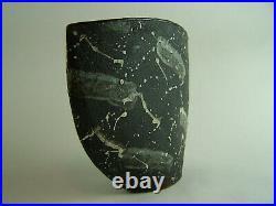 A Rare John Maltby Eliptical Bowl Studio Pottery 19.5 x 23cm