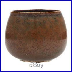 A Stig Lindberg Gustavsberg studio hand bowl Swedish midcentury art pottery