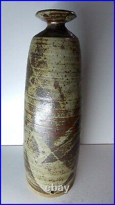 Alan Watt Sculpture Pot Vase Art Work Australian Studio Ceramic Pottery