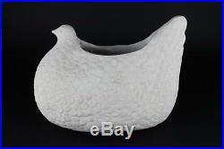 Aldo Londi For Bitossi Ceramic Huge Art Pottery Vase Of Bird MID Century Modern