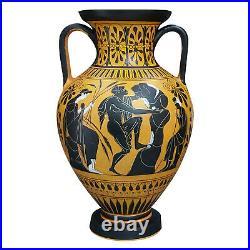 Amphora Myth of Sisyphus Persephone Hades Vase Ancient Greek Pottery Ceramic