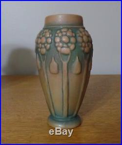 Amphora Teplitz Crownoakware Arts and Crafts Vase MINT