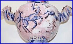 Antique 1920s VALLY WIESELTHIER CERAMIC HORSE VASE Wiener Werkstatte Art Deco