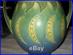 Antique Roseville Falline Art Deco Pottery Flower Garden Planter Home Decor Vase