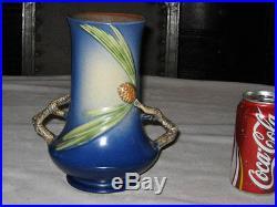 Antique Roseville Pinecone Art Pottery Flower Garden Tree Urn Vase Pine Cone