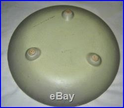 Antique Weller Hudson Floral Art Deco Pottery Plant Planter Tray Dish Bowl Mint