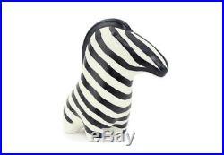 Arabia Finland Abstract Zebra Animal Art Pottery Figurine Taisto Kaasinen Rare
