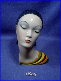 Ars Pulchra Ceramic Art deco Figure 1935 Turin Lenci