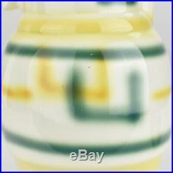 Art Deco Bauhaus Era Pottery Chocolate Jug Airbrush Spritzdekor Suprematism