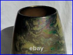 Art Nouveau Judgenstill Vase Zsolnay Pecs Iridescent Eosine