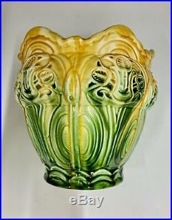 Art Nouveau Pottery Jardiniere circa 1895