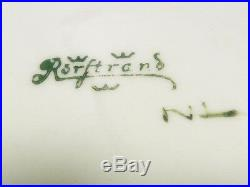 Art Nouveau Rorstrand Swedish Porcelain Antique Vase Arts and Crafts
