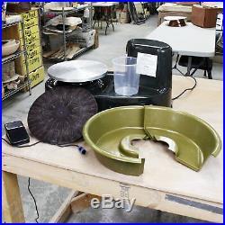 Art Supply U. S. Table Top Pottery Wheel LCD Wheel Speed Display 11 Bat Ceramics