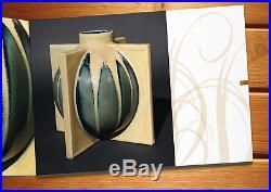 Art déco ceramic vase Denbac