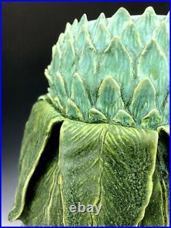 Artichoke Vase Odd Inc. Pottery by Jonathan White 11 1/2 tall 2020