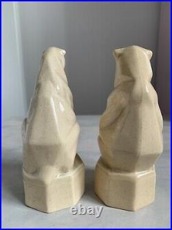 Ashtead Potters Donald Gilbert Art Deco Jungle Book Figures Balloo & Bacheera