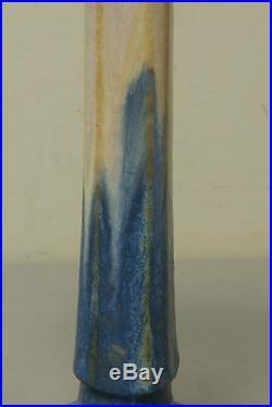 BEAUTIFUL ANTIQUE FULPER AMERICAN ART POTTERY SINGLE CANDLE STICK, c. 1909-1916