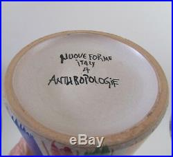 Bagni Nuove Forme Art Pottery Incised Ceramic Vase Anthropologie