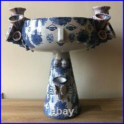 Bjorn Wiinblad Large EVA Vase 1976