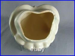 Brush Pottery Nite Owl Cookie Jar, 10-3/4, blue, green, gray, McCoy, 1967
