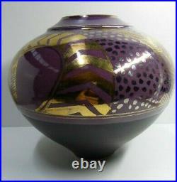 Bryan Trueman Australian Pottery Exhibition Vase Ceramic Studio Art