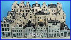 COMPLETE SET KLM miniature DUTCH DELFT HOUSES #1-101