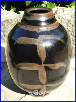 Canadian Ceramic Artist Wayne Ngan Older Art Pottery Vase
