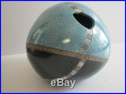 Carl Peverall Pottery Studio Ceramic Vase Abstract Modernism Sculpture Vessel