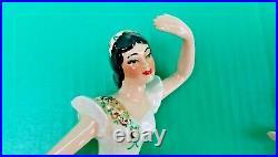 Ceramic Arts Studio Madison ATTITUDE & ARABESQUE Ballerina Wall Plaques
