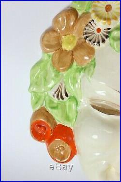 Clarice Cliff bizarre Art Deco mask of Flora, Great Britain