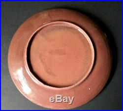 DESIGN TECHNICS Studio of Lee Rosen Art Plate Ceramic Pottery Mid Century Signed